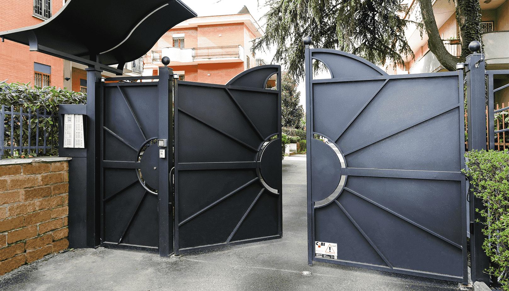 Cancelli automatici KiKO a Roma - monoblocco chiavi in mano