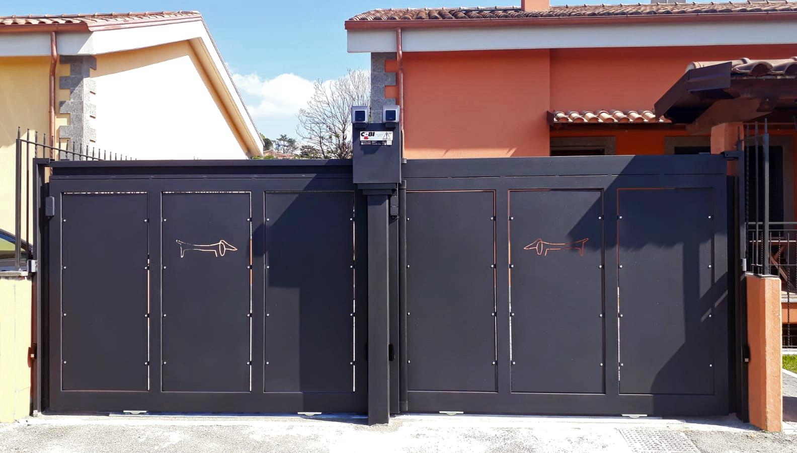cancello scorrevole roma